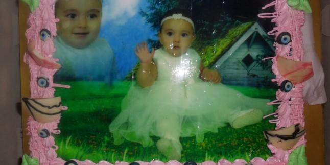 Miniğimin 1. Yaş Doğum Günü Pastası
