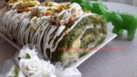 Ispanaklı Kivili Rulo Pasta